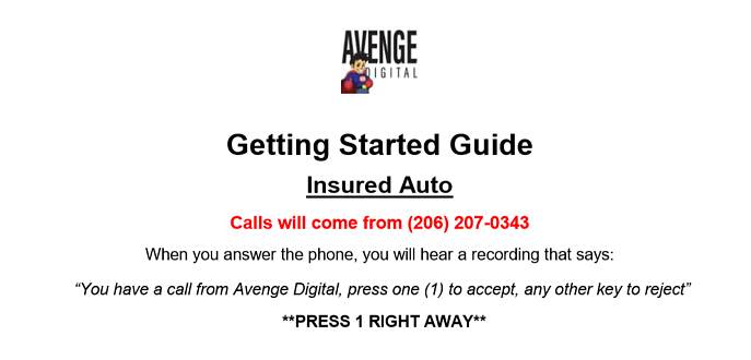 insured auto